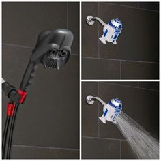 'Star Wars' Darth Vader And R2-D2 Showerheads