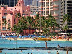 Waikiki, Honolulu, Hawaii (Royal Hawaiaan Hotel)