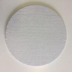 white linen base plates