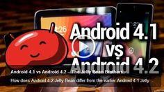 Differences bw.Android 4.1 & 4.2? (video) http://plus.google.com/u/0/114298483458899933963/posts/aYvywwmB4gB