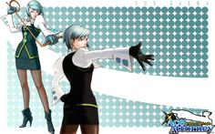 Franziska Von Karma .Daughter of Manfred Von Karma (who was mentor of Edgeworth ). A step sister to Edgeworth. Carries a whip . Uses at Detective Gumshoe, Judge, Phoenix , Edgeworth and at many disturbing and irritating witnesses .