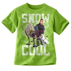 "Disney Frozen Olaf ""Snow Cool"" Tee - Toddler"