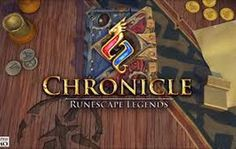 Chronicle : Runescape Legends coming on November