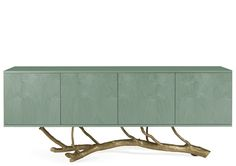The Ginger & Jagger Magnolia Sideboard is a practical sideboard with a unique touch. Cabinet Furniture, Furniture Decor, Furniture Design, Buffets, Luxury Furniture, Modern Furniture, Kitchen Wood Design, Magnolia, Modern Cabinets