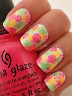 Really cute nails.