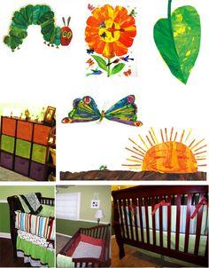 Eric Carle theme nursery pics