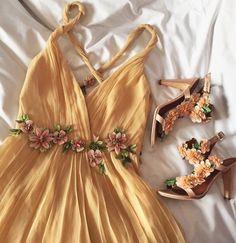 Prom Dresses 2018 A-line v neck backless long prom dress, evening dress, formal dresses Cute Prom Dresses, Prom Dresses 2018, Backless Prom Dresses, Grad Dresses, Flower Dresses, Dance Dresses, Pretty Dresses, Sexy Dresses, Beautiful Dresses