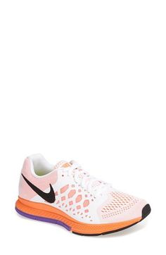 Nike 'Air Pegasus 31' Running Shoe (Women) | Nordstrom, mango and white, 6.5