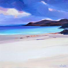 "Pam Carter - ""North Twin Beach Gigha"""