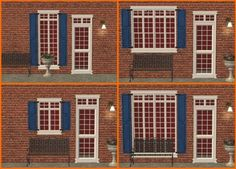 Mod The Sims - Maxis Match Shutters for the Matrix/Craftsman Windows & My Expansion Set