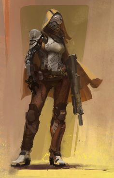 Dystopian Post-Apocalyptic Mecha Nomad Futuristic for cosplay ideas  Destiny Game - Guardian, Hunter