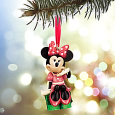 ANYA IDEA from DISNEY STORE: Minnie Mouse Sketchbook Ornament