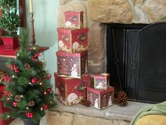 What lovely holiday boxes - Valerie Parr Hill - QVC