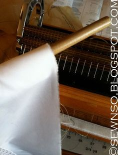 There are a few ways to pleat fabric for smocking, but the easiest and fastest way is by using a smocking pleater. My previous post was all ...
