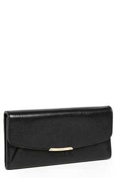 COACH 'Madison' Leather Envelope Wallet available at #Nordstrom
