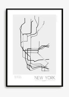 Kreativitum Underground print - New York