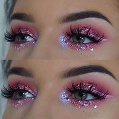 #makeup #eyes #glitter L x