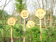 Happy wood on the Floriade 2012 World Horticultural Expo, Venlo - The Netherlands