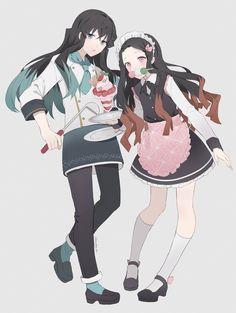 Kimetsu no Yaiba (Demon Slayer) Image - Zerochan Anime Image Board Demon Slayer, Slayer Anime, Anime Demon, Manga Anime, Anime Maid, A Silent Voice, Darling In The Franxx, Pokemon, Otaku