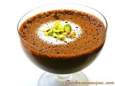 chocolate mousse in minutes.