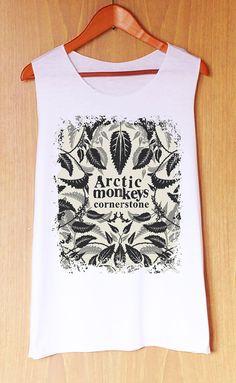 Arctic Monkeys Cornerstone  : Tank Top , Women Tank Top , Women Clothing , Cute Tank Top , Shirt Tank Top , Arctic Monkeys Tank Top
