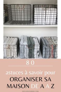 80 tips to organize the house so that it always stays tidy – Car Sticker Home Organization Hacks, Planner Organization, Kids Toy Boxes, The Home Edit, Tidy Up, Home Reno, Organic Cleaning Products, Declutter, House Cleaning Tips