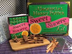 The Unofficial Harry Potter Sweet Shoppe Kit: From Peppermint Humbugs ...
