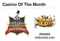 LatestCasinoBonuses.com Unveils January Site of the Month: VideoSlots.com - 9th of Feb 2015
