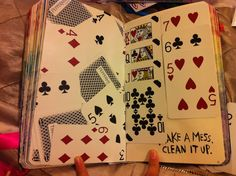 wreck this journal - make a mess,  clean it up