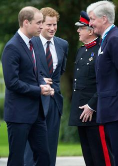 Prince William and Prince Harry open for Help for Heroes centre in Wiltshire, 20 May 2013