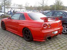 Skyline Gtr R34, R34 Gtr, Nissan Skyline, Nissan Gt, Nice Cars, Custom Cars, Jdm, Rally, Dream Cars