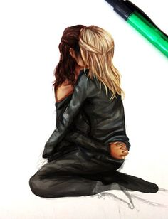 Lexa & Clarke | ONLY CLEXA | Клекса