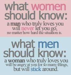 Quote on Men and Women. Probably already pinned this, BUT... I like it.