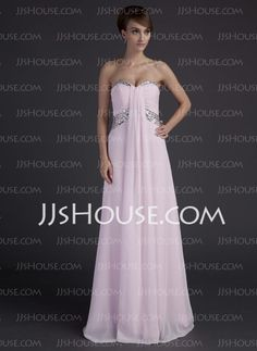 Prom Dresses - $138.09 - A-Line/Princess Sweetheart Floor-Length Chiffon Prom Dresses With Ruffle Beading (018015668) http://jjshouse.com/A-Line-Princess-Sweetheart-Floor-Length-Chiffon-Prom-Dresses-With-Ruffle-Beading-018015668-g15668