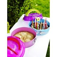 Kakeform m/lokk Pink (2 stk)