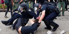 U.S. army troops prepare for civil unrest in America