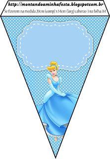 Montando a minha festa: Cinderela