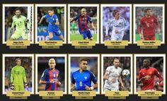 Messi, Modric, Neymar, Neuer, Pogba y Pepe, a por el Balón de Oro