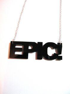 Epic necklace