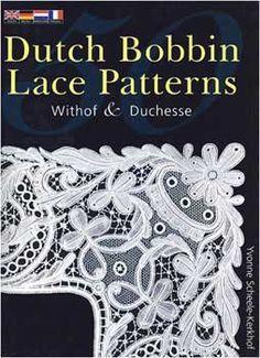 50 Dutch Bobbin  Lace Patterns  Withof & Duchesse    Techniek en werktekeningen  50 patronen  Engelse, Duitse, Nederlandse en Franse tekst  144 pagina's,paperback  Gepubliceerd: 1997  ISBN 0 7134 7881 0    Uitverkocht - tweedehands exemplaren verkrijgbaar via internet
