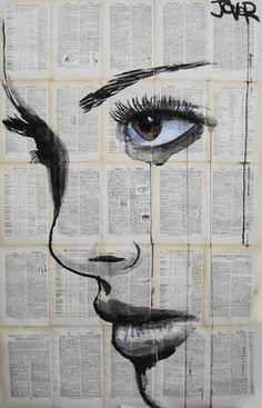 Saatchi Online Artist Loui Jover; Drawing, athene #art