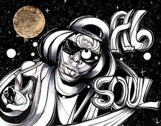 """Check out new work on my @Behance portfolio: """"Ab Soul"""" http://be.net/gallery/47420633/Ab-Soul"""
