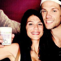 Jared and Genevieve #Padalecki