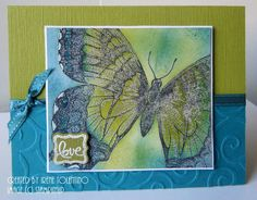 Relax. Make a Card: More Swallowtail Cards