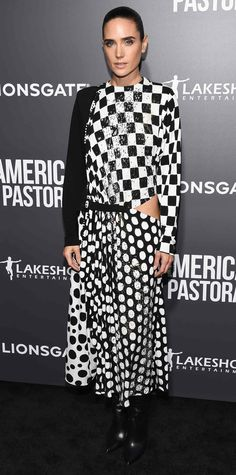 Look of the Day - Jennifer Connelly from InStyle.com