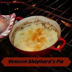 Vension Shepherd's Pie