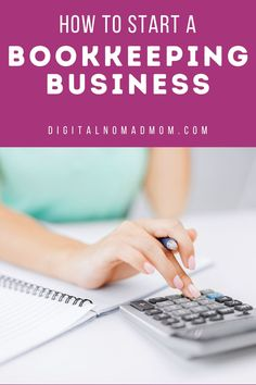 Learn about all the steps required to start a bookkeeping business. A bookkeeping business is low cost to start and can be very lucrative! Simple steps for starting a bookkeeping business right from your own home!