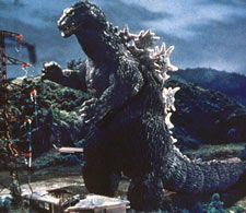"""Godzilla from """"King Kong vs. Godzilla"""" -- I don't remember who won, but I hope it was Godzilla."""