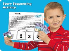 A whole bunch of great free printables for sequencing, phonological awareness, vocabulary, etc.