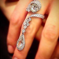 Fingers dripping with diamonds #diamonds www.kristoffjewelers.com